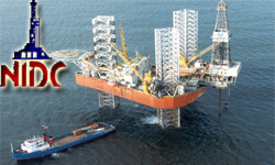 Iran NIDC drilling activities in Persian Gulf