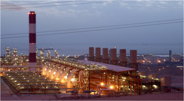 Iran South Pars phases 13 and 22-24 gas refineries open