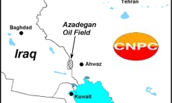 Chinese CNPC is the operator of phase-I of Iran N. Azadegan